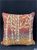 (5) Decorative Pillows And (1) Chair Cushion W