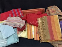 Lot Of Table Placemats, Oven Mitts And More