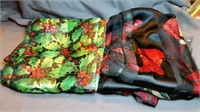 (4) Holiday Scarves
