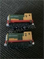 2 Thomas Limited Metaltrain Cars