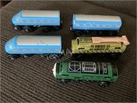 Thomas The Train Wood Train Cars