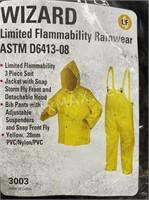 Wizard Flammability Rainwear (x2 50-52)