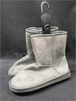 Women's Gray Boots