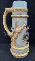 Large Rodeo Beer Stein