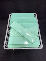 (27) Tiffany Color Jewelry Boxes