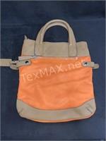 La Terre Fashion Orange & Brown Handbag