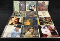 Lot Of (12) Assorted Country Cd's