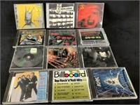 Mixed Lot Of (12) Cd's
