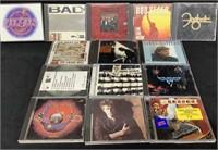 Mixed Lot Of (14) Classic Rock Cd's