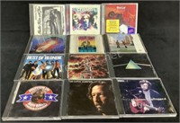 Mixed Lot Of (12) Classic Rock Cd's