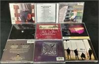 Mixed Lot Of (9) Classic Rock Cd's