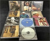 Lot Of (11) George Strait Cd's