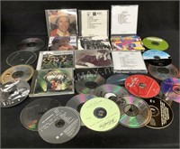 Lot Of Assorted Cd's And Empty Cases
