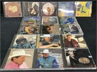 (17) Assorted Country Cd's