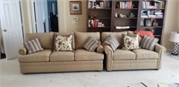 Ethan Allen sofa and love seat
