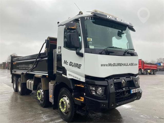 2014 RENAULT KERAX 430 at TruckLocator.ie