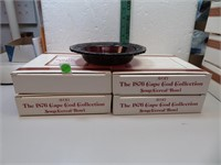 4 Vintage AVON Cape Cod Cereal Bowls with Boxes