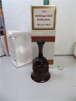 "Vtg AVON Cape Cod Hostess Bell with Box 6&1/2"""