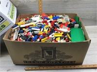 BOX FULL OF LEGOS