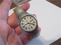 Timex Indiglo WR30M Wristwatch (needs battery)