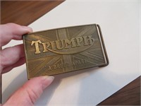 Triumph A Breed Apart Belt Buckle