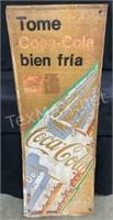 Tome Coca-cola Bien Fria Aluminum Wall Decor