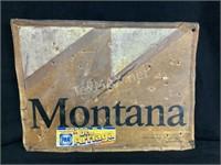 Aluminum Montana Sign