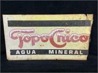Topocnico Agua Mineral Aluminum Sign