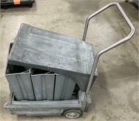 Follet 75lb. Bag Ice Cart