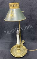 19th Century Style Candlestick Lamp