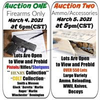 Legendary Ammo and Accessories Auction March 5