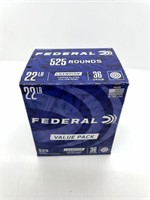 (525) Rounds 22LR, Federal