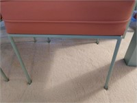 Sofa Table and 2 Stools