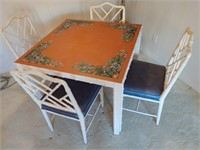 Square Table and 4 Chairs