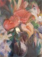 Large Unknown Artist Framed Print