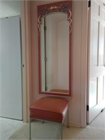 Mirror and Stool