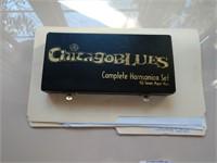 Chicago Blues Harmonica Set of 7