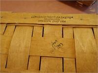 3 Longaberger Baskets
