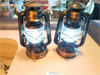 2  LED Lanterns