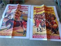 2 Ringling Bros & Barnum Poster Repros #2