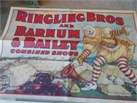 2 Ringling Bros & Barnum Poster Repros #1