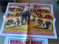 2 Ringling Bros & Barnum Poster Repros #3