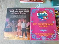 Vintage Circus Programs and Books