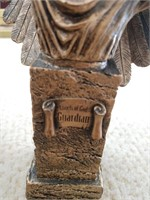 Setter Bookends, Angel, and Cork Sculpture