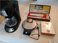 Waffle Maker, Slicing Knife, Coffe Maker &more