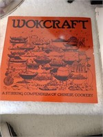 Farberware Wok and 3 Cookbooks