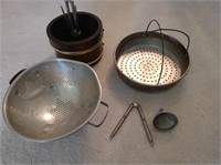 Nut Cracking Kit, Sifter and Strainer