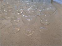 Clear Glass Stemware
