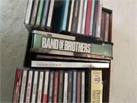 CDs, DVDs, Cassettes