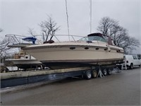 Mar. 4th at 6:00 PM CST 1986 36 ft Regal Commodore Yacht